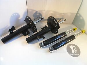 Ford Mondeo Mk4 Front and Rear Shock Absorbers Dampers 2007 Onwards