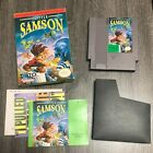 Little Samson (Nintendo NES) Complete In Box CIB - 100% Authentic - Very Nice
