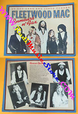 BOOK LIBRO FLEETWOOD MAC Rumours n fax Roy Carr Steve Clarke HARMONY no cd lp