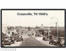 Crossville TN Tennessee GULF Gas Station Refrigerator / Tool Box Magnet