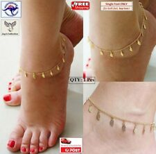 1 Pcs Fashion Leaves Foot Chain Barefoot Anklet Jewelry Women [A9N~B16]