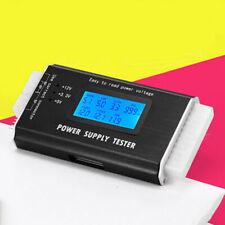 PC Computer Measuring PSU LCD Digital BTX SATA ATX Power Supply Tester 20/24Pin