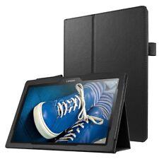 BOOK COVER IN PELLE PER LENOVO TAB 2 A10-30 X30F A10-70F CUSTODIA NERO STAND