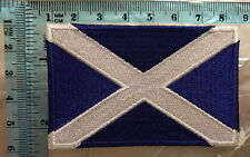 Scotland scottish scot flag Embroidered Iron on Sew on Patch Badge N-75