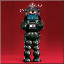 Vintage Robby the Robot, Flat Flexible, Refrigerator Magnet, 40 MIL