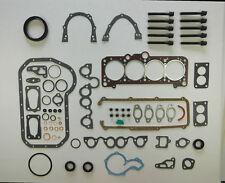 FOR VW GOLF MK2 JETTA PASSAT 1.6 1.8 BOTTOM SUMP END & HEAD GASKET SET & BOLTS