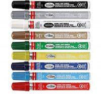 TESTORS ENAMEL PAINT MARKER Pen Multi Purpose & Surface HOBBY Craft ~PICK COLOR~