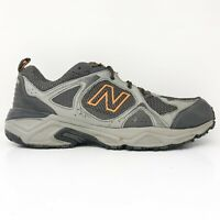 New Balance Mens 481 V3 MT481LC3 Gray Running Shoes Lace Up Low Top Size 10.5 4E