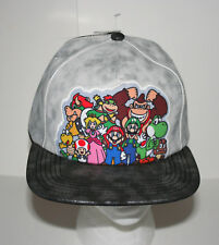 2017 Nintendo Super Mario Video Game Snap Back Baseball Hat Cap New Tags Womans