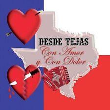 Various Artists : Desde Tejas Con Amor CD
