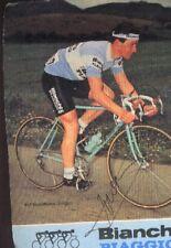PAUL VERSCHUERE cyclisme Signée BIANCHI PIAGGIO 83 autographe cycling ciclismo