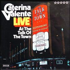 CATERINA VALENTE Live At The Talk Of The T GER Press LP