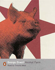 Animal Farm: A Fairy Story by George Orwell (Audio cassette, 2000)