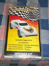 NIP Pinecar P413 Designer Kit Screamin' Eagle