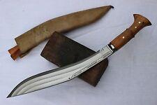 "15"" 3 Fullers Full Tang Kukri,Hand Forged Farmer Blade, Nepal Khukuri Knife"