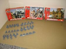 Boxed Airfix 1/72 Scale WW11 US Paratroops,German infantry ,Luftwaffe Personnel