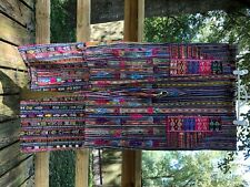 Vintage Guatemala Mayan woven/embroidered pants Men/women. Hippie boho