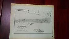 1892 Map Diagram of Central RR Wharves, Savannah Harbor, GA, Rice Dyke