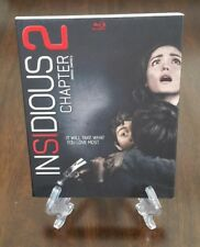 Insidious Chapter 2 Blu-ray with Slipcover. Factory Sealed Horror Movie