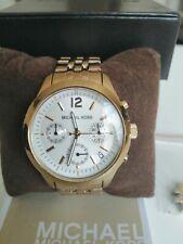 Michael Kors Yellow Gold Tone Chronograph Ladies Watch MK 5192