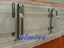 Lots IKEA RIKTIG Curtain Hooks Set for Drapes Curtains Window Treatment From CA