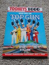 Tooheys 1000 Official Programme - 1989 Mount Panorama Bathurst Peter Brock
