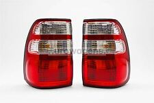 Toyota Land Cruiser HDJ100 02-04 Rear Tail Lights Lamps Pair Set Left Right
