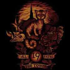 All 19 Roads Lead To THE DARK TOWER Cat Nineteen Stephen King TEEFURY T-SHIRT!