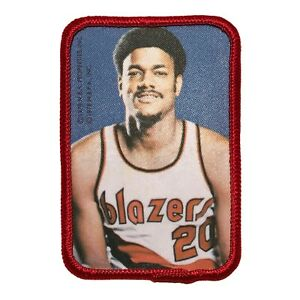 """1978 MAURICE LUCAS PORTLAND TRAIL BLAZERS NBA BASKETBALL 3"""" PLAYER PICTURE PATCH"""