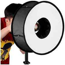 """Neewer Round Universal Collapsible Magnetic Ring Flash Diffuser SoftBox 45cm/18"""""""