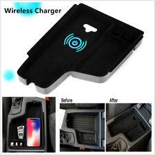 1x Car Wireless Charging Storage Box Fit For BMW 3 series F30 F31 F32 F34 12-17