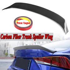 Carbon Fiber HighKick Trunk Spoiler AR Type For 2014-19 Lexus IS200 IS250 IS300