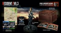 Resident Evil 3 Remake Collector's Edition PS4 Gamestop Exclusive PREORDER ONLY