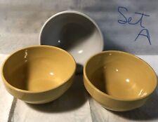 Heath Ceramics Bowls Set A