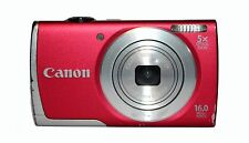 CANON POWERSHOT A2600 16.0 MP DIGITAL CAMERA -RED - FAULTY - 1072