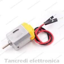 Motorino elettrico dc da 3v a 6v mini motore giocattolo diametro albero 2mm