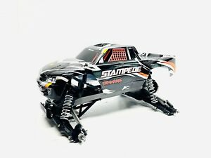 *Mint Low Use* Traxxas Stampede 2wd *Roller Slider Only* 1/10 Chassis Rc Truck