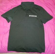 Lululemon Team Wiggins Polo Shirt Black Medium