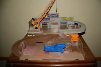 Mattel Hot Wheels StoNGo Construction Site PLAYSET Vntg 1979 for Vehicles Cars