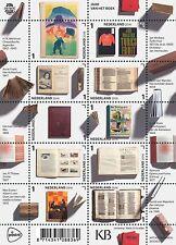 Nederland 2016  jr vh Boek ANNE FRANK, VLINDERS, SCHIP,SCHAKEN luxe postfris/mnh