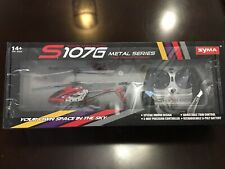 Syma S107G Metal Series Rc Helicopter 3 Channel Infrared