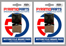 KTM MX 500 1986 Front & Rear Brake Pads Full Set (2 Pairs)