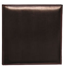 """6x Leather Look Self Adhesive Photo Albums 15x 11.5x12.5"""" sheets/30Pages"""
