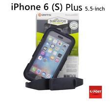 Griffin Survivor Heavy Duty Anti Shock Case Cover for iPhone 6 Plus/6s Plus 5.5'