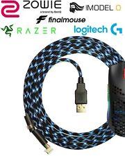 Paracord Mouse Cable - Ausmodshop - Cape Town UL2 Zowie Logitech Model O Razer