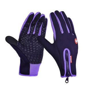 Outdoor Sports Camping Hiking Bicycle Bike Unisex Winter Gloves Warm Touchscreen