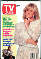 TV Guide Nov. 24-30 1990 Linda Evans Malcolm-Jamal Warner EX 011216jhe2