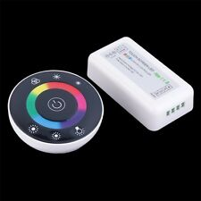 Wireless Touch Panel RF Remote 18A Controller Dimmer for RGB LED Strip HR
