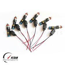 Set 6 x 850cc fuel injectors for NISSAN SKYLINE R33 GTS-T RB25DET FIT BOSCH EV14