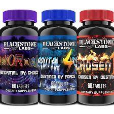 Blackstone Labs | Trifecta Stack - Abnormal + Brutal 4ce + Chosen1 + FREE SAMPLE